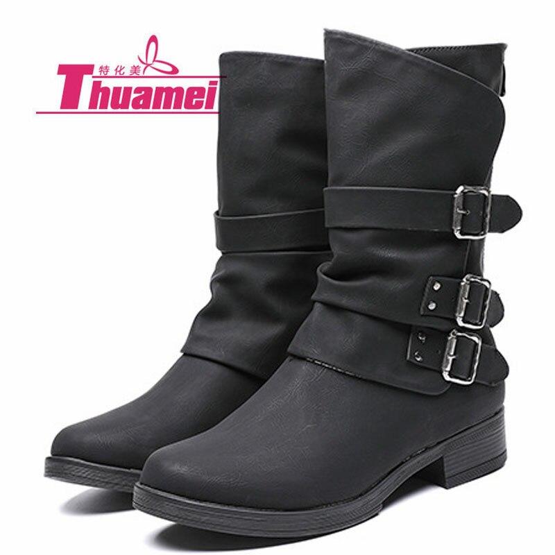 Femmes Noir Chaussures Plate Botas Moto Cheville Automne Basse Rose Talons Mode De Y0797126q Femme forme Bottes TxxZqXPA