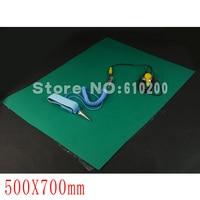 50cm x 70cm Anti static Mat Anti Static Pad Repair Tool For iPhone Samsung iPad etc +Ground Wire+ESD wrist serap