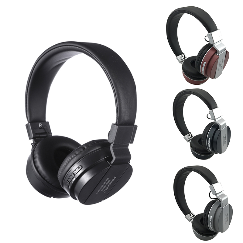 Hisonic Studio Headset Wireless Headphones Stereo Foldable Sport Earphone Microphone Gaming Cordless Auriculares Audifonos image