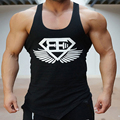 New 2016 fashion cotton  sleeveless shirts tank top men Fitness shirt mens singlet  Bodybuilding Plus size gymvest fitness men