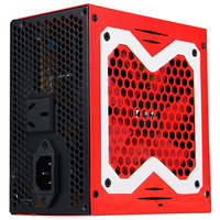 PC Power Supply For Computer Desktop Host 600W Gaming Psu With 6pin Video Card Machine And