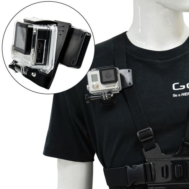 Gopro Bag Holder Revolve 360 Degree Quick Attach Clip For Hd Hero Camera