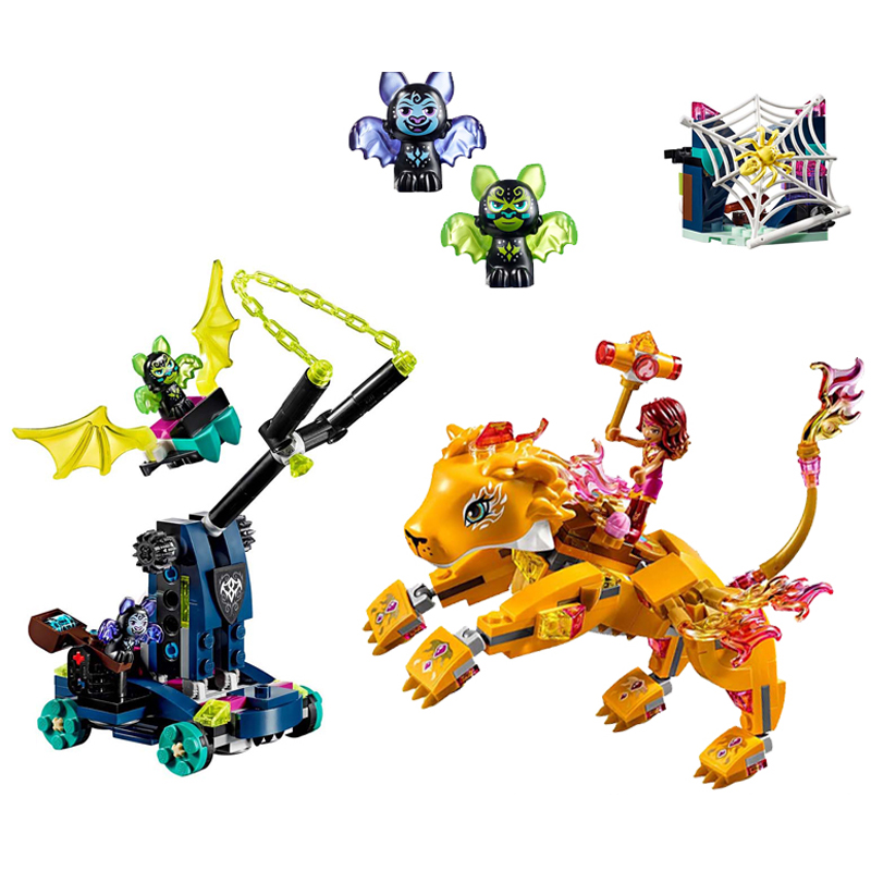Elf Series Toys 403Pcs Athalia and Flame Lion Educational Toy Assembled Building Blocks Compatible legoings 41192 EducationalElf Series Toys 403Pcs Athalia and Flame Lion Educational Toy Assembled Building Blocks Compatible legoings 41192 Educational