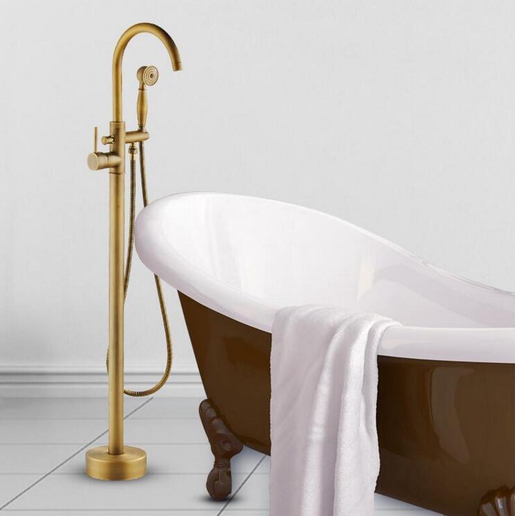 Modern Free standing Bathtub Faucet Tub Filler Fashion ...