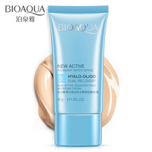 40g BIOAQUA New Spring Water BB Cream Facial Cream Face Concealer Spots Whitening Oil Control Nude Makeup Skin Care Kit недорого