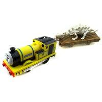 X139 électrique Thomas ami jaune Rheneas et Dinosaures Remorque Compartiments Chinldren Piste maître actuel en plastique jouets