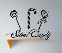 Wall Decals Sweet Candies Food Decal Vinyl Sticker Cafe Kitchen Decor