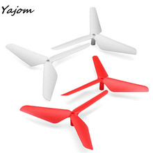 2017 New Hot Sale  New 4PC 3 Blade Propeller for Syma X5C JJRC H5C Free for shipping Brand New High Quality Mar 9