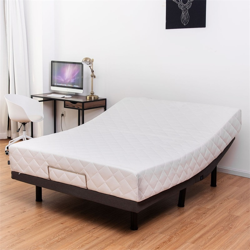 Adjustable Massage Bed Base With Remote Control & USB Ports Twin Queen Beds Salon Furniture HW58721(China)
