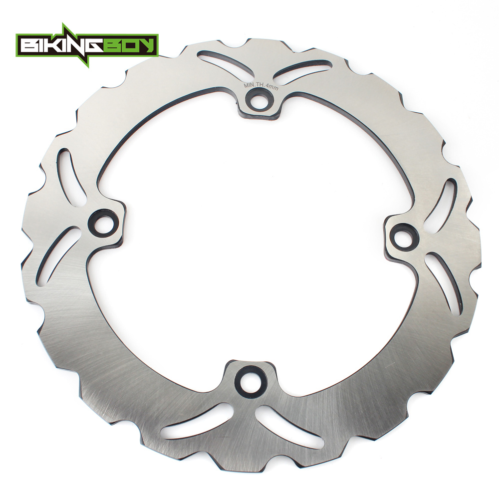 BIKINGBOY 256mm Front Brake Disc Rotor Wave Set For Honda NX 650 DOMINATOR 88 89 90 91 92 93 94 95 96 97 98-04 XR650L 1993-2012