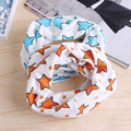 New Children Boys Girls Warm Colorful Stars O-Ring Cotton Neck Scarf Autumn Winter