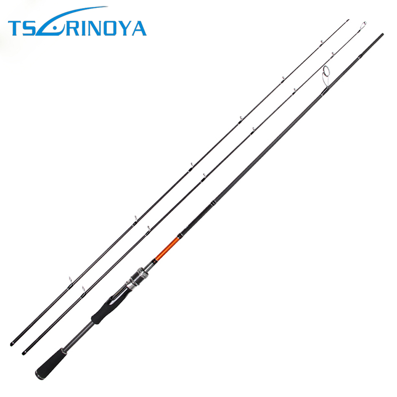 Trulinoya Fishing Spinning Rod Trulinoya TY 2.1M Power M/ML Lure Rods Ultra Light UL 98% High Carbon Bait Casting Fishing Rod