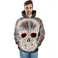 3d Skull Printed Hoodies Men Sweatshirts Women Funny Unisex Pullover Hooded Tracksuits Fashion Boy Jackets Brand Hoodies New