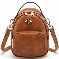small Shoulder bag Beautiful bee backpack CHISPAULO brand New 2019 women leather bag free shipping