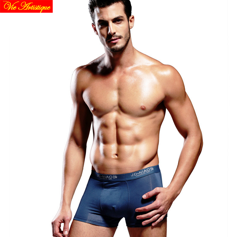 boxers men sexy underwear mens flower boxer shorts gay homme pink hero cotton spandex bamboo fiber L XX XL 4ps/lot gift boxes