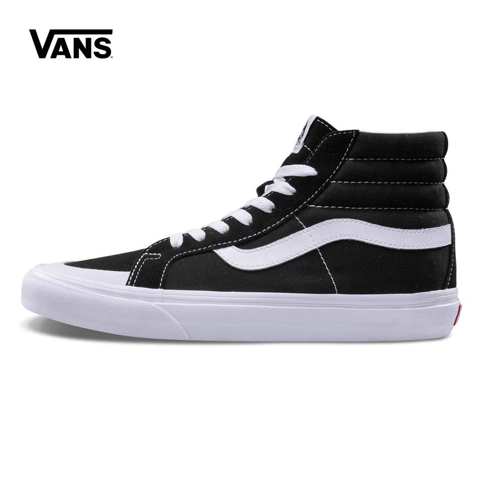 US $59.2 15% OFF|Vans Toe Cap SK8 HI REISSUE 138 Autumn Couple Shoes  Sneakers high help classic color Weight lifting shoes Eur 36 44-in  Weightlifting ...
