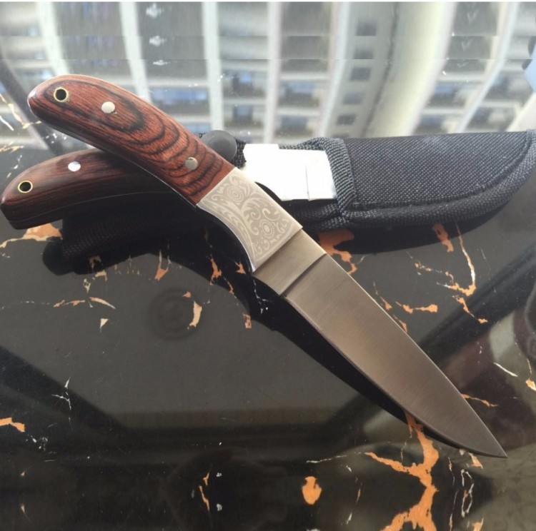 Fixed Blade Stainless Steel font b Tactical b font font b Knife b font Outdoor Survival