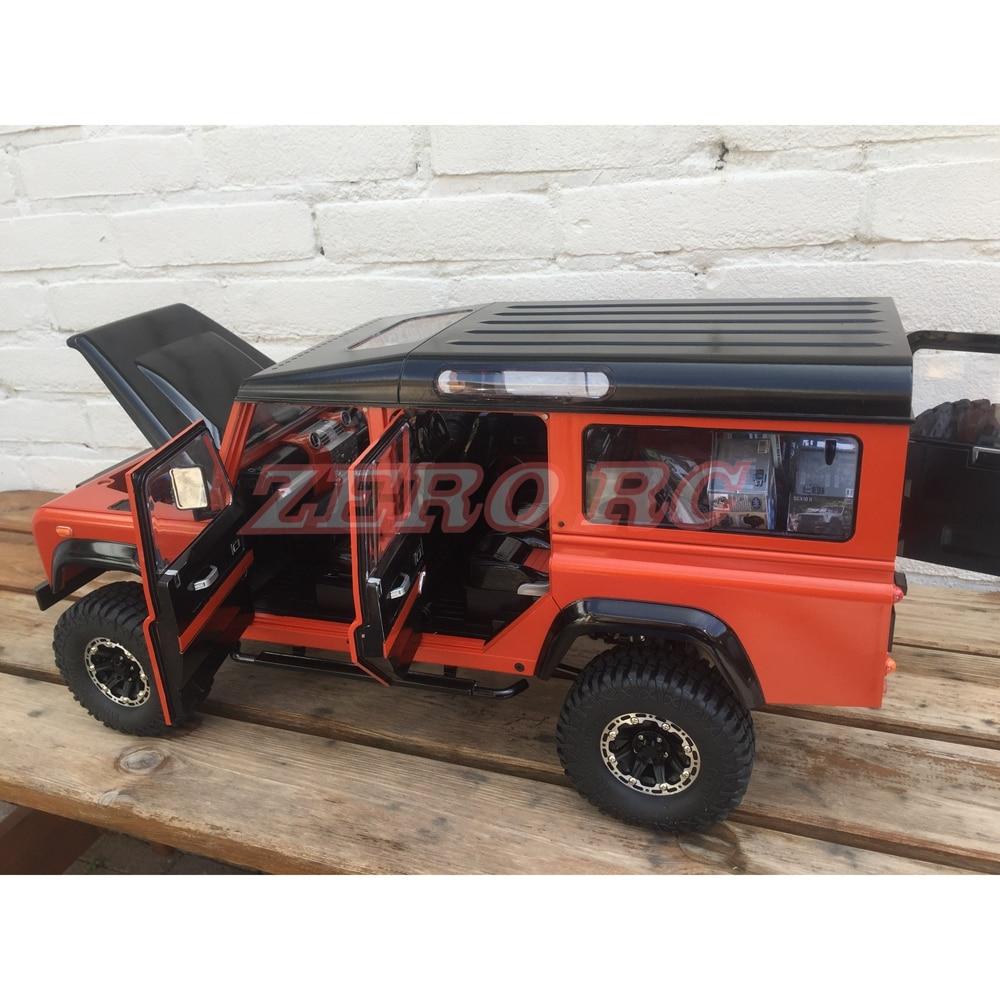 1 10 RC Scale Gelande II D110 Hard Plastic Body Shell Kit 334mm Wheelbase For RC4WD