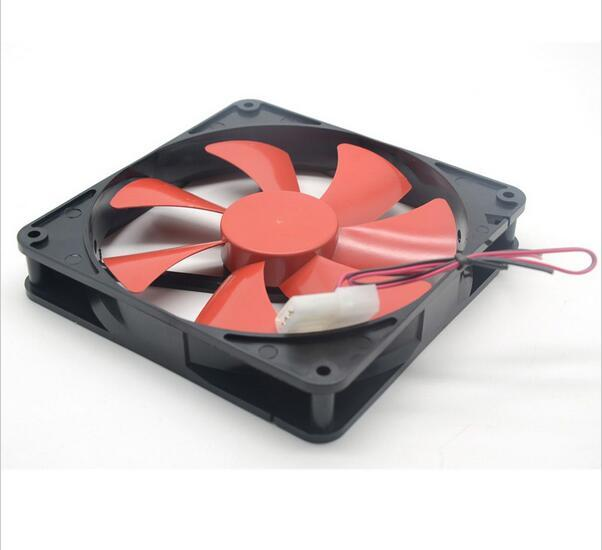 [VK] Beste stille ruhig 140mm pc-gehäuse lüfter 14 cm DC 12 V 4D plug computer kühler Zubehör