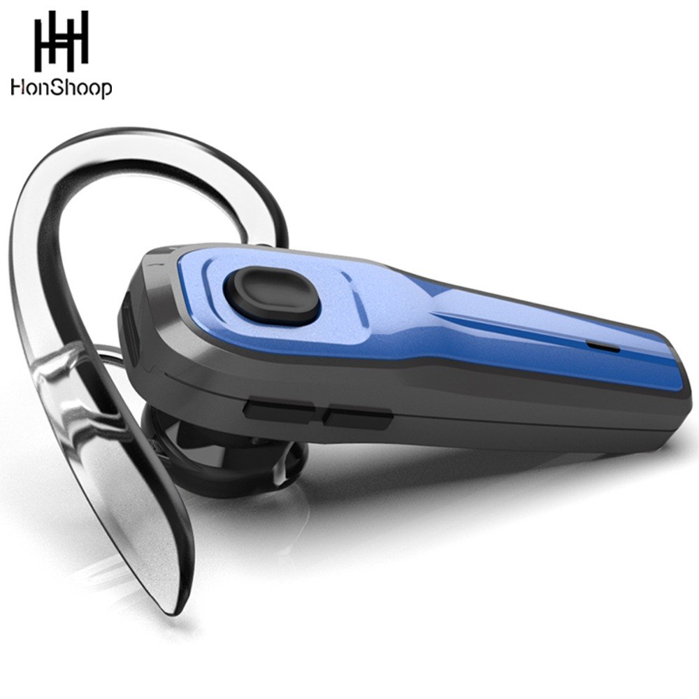 Bluetooth Headset Wireless Earpiece V4.1 with Mute Switch and Noise Reduction Mic for iPhone Samsung and other Smartphones ...