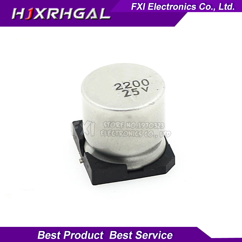 4pcs 2200uf 25v Radial Electrolytic Capacitor 25v2200uf