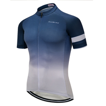 Gradient colors cycling jersey 2019 Men retro mountain road bike shirt Summer short bicycle clothes Pro sport wear mtb clothing