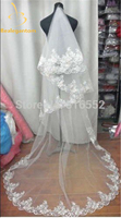 New White Or Ivory Bridal Bridesmaid Wedding Dress Accessories Veil About 2 8M