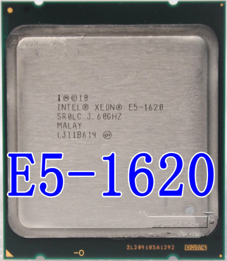 US $45 7 |Intel Xeon E5 1620 e5 1620 3 6GHz 4 Core 10Mb Cache Socket 2011  CPU Processor SR0LC can work-in CPUs from Computer & Office on