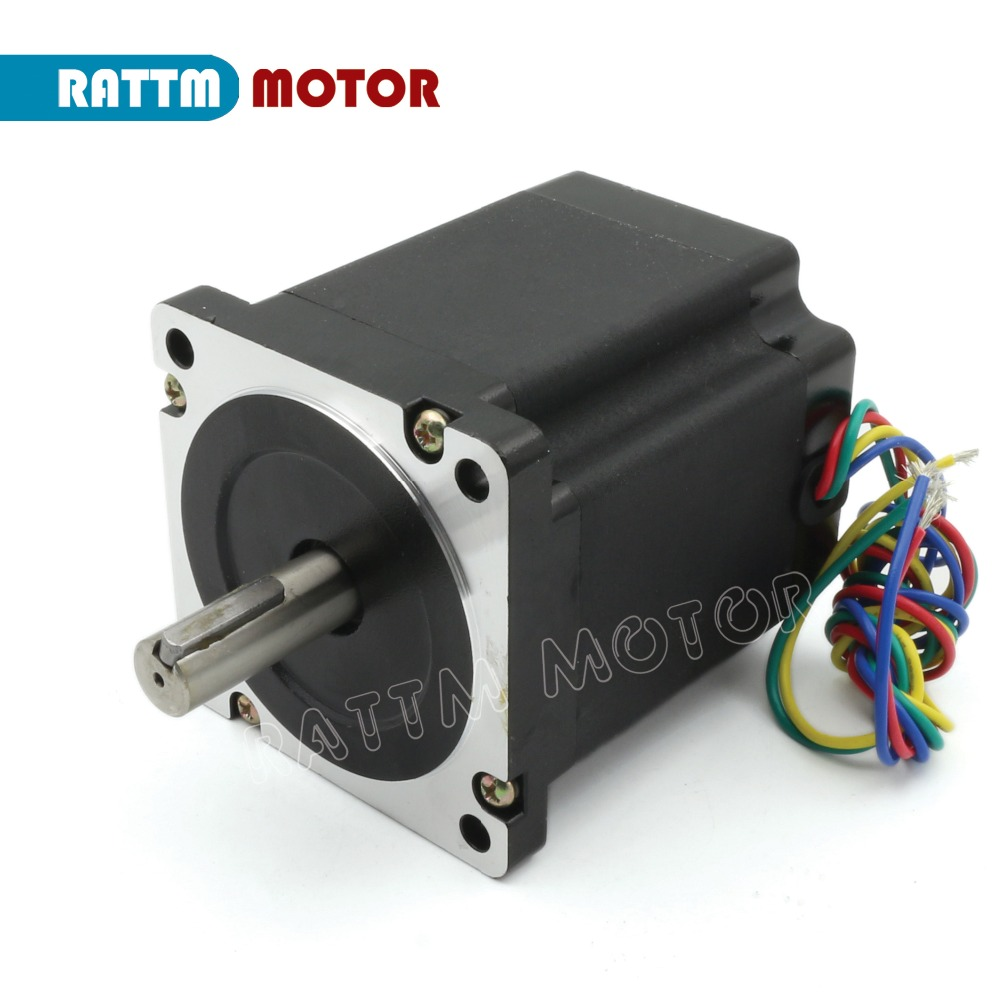 Quality 34HS9801 NEMA34 878 Oz-in 560N.cm CNC stepper motor stepping motor 4.0A for CNC Router Large CNC Milling machine цена
