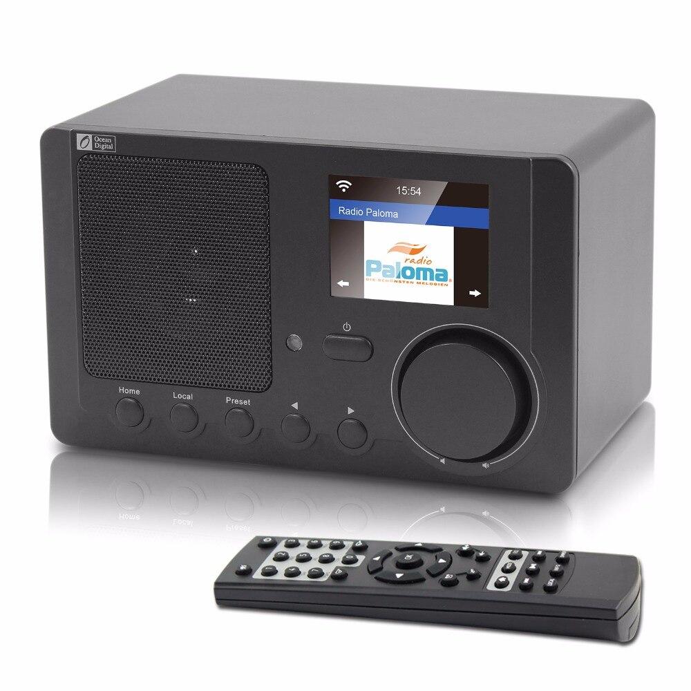 O-008 океан цифровой WR-210CB интернет радио Multifuncational беспроводной Wi Fi Blueetooth Intelligent радио
