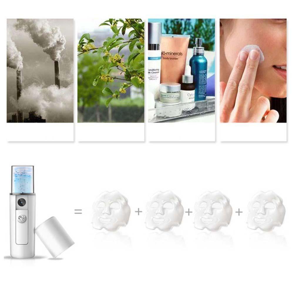Portátil da Massagem Steamer Facial Névoa Pulverizador Umidade