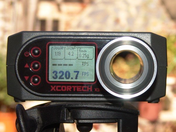 ФОТО Free Shipping X3200 High-Power BB Airsoft Xcortech shooting Chronograph Hunting Speedometer Paintball Speed Counter Test