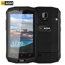 AGM A8 мини тройной корректуры 2 ГБ/16 ГБ IP68 Водонепроницаемый ударопрочный 4.0 »Android 5.1 MSM8909 4 ядра 4 г Dual SIM OTG NFC ce rohs