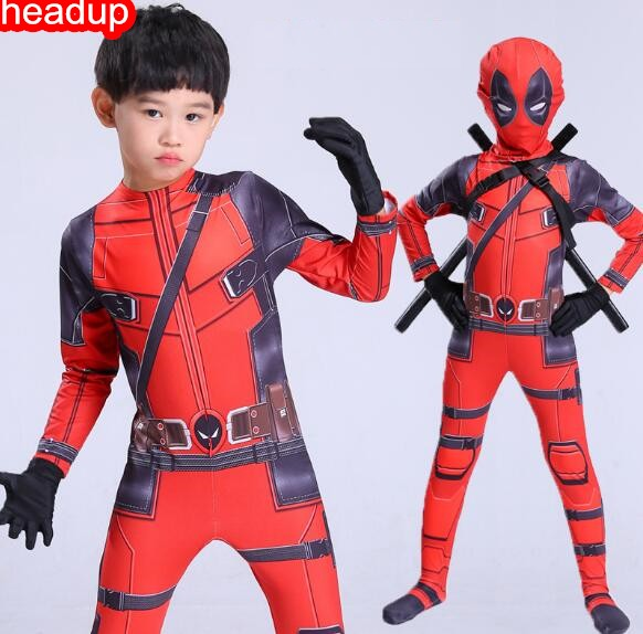 Halloween Costumes For Kidsboys.Us 25 88 Children Deadpool Costume Halloween Costume For Kids Boys Party Cosplay Disfraces Carnival Toddler Clothing Set In Boys Costumes From