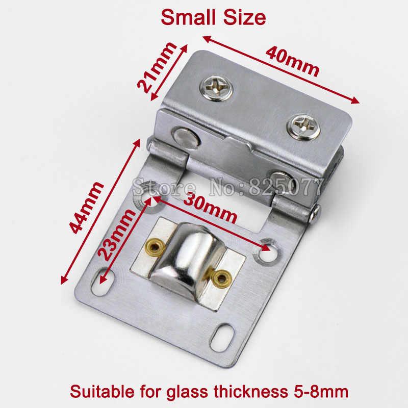 10x الأحادية الزجاج عرض مجلس الوزراء المفصلي زجاج الباب المشبك كليب ل 5-10 ملليمتر الزجاج سمك JF1276