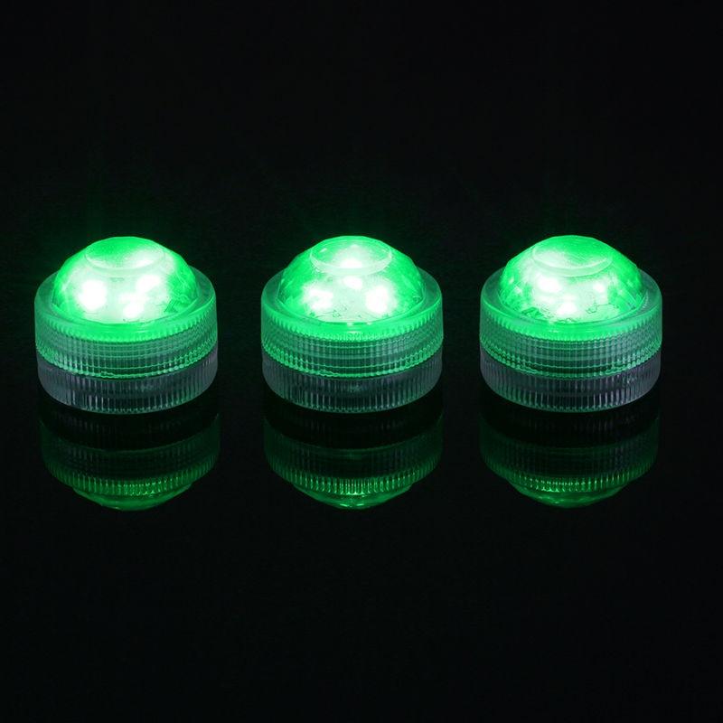 Triple LED Light Green