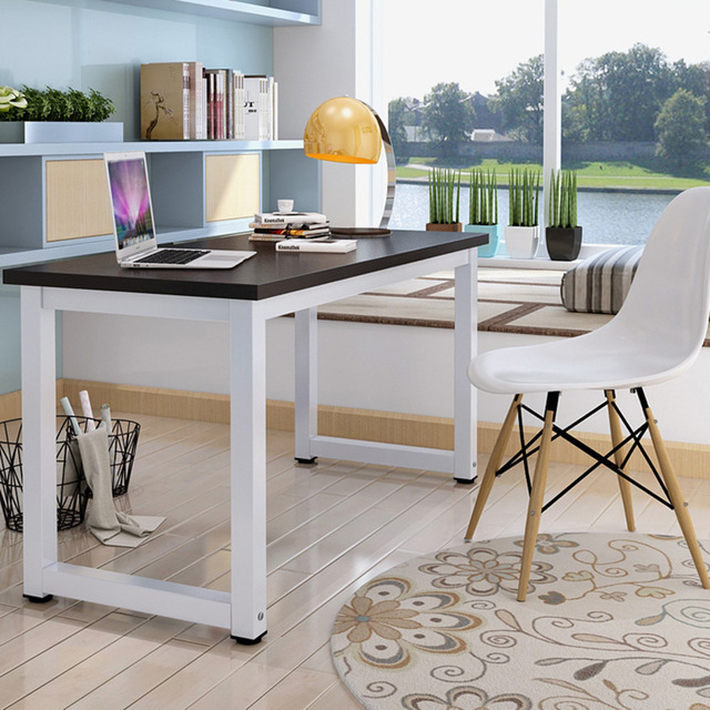 Table cheap simple desktop computer desk minimalist home for Cheap minimalist furniture