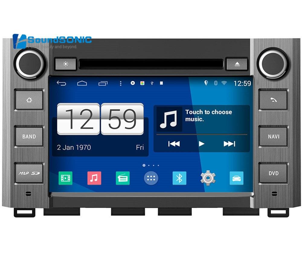 Quad Core Android 4.4.4 pour Toyota Tundra 2014 2015 écran tactile voiture stéréo Radio DVD GPS Navigation Sat Navi Central multimédia