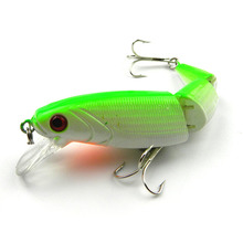 1Pcs 10.5cm 14g Fishing lure iscas artificiais para pesca multi section bend high simulation bait carp fishing tackle WQ51