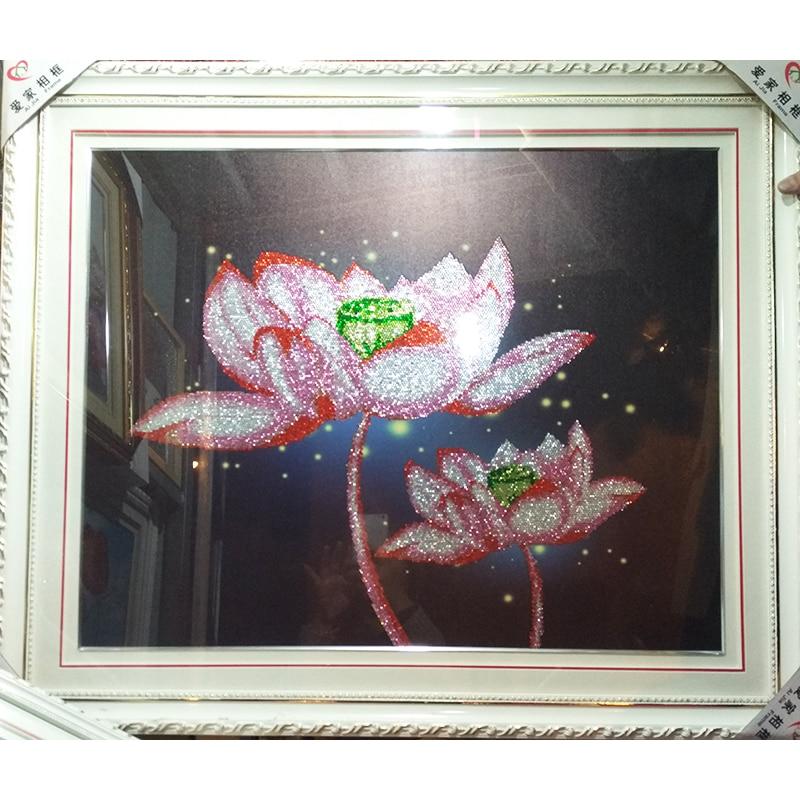 80x65 CM 5D Diy Diamante redondo pintura punto de Cruz Flores Dream - Artes, artesanía y costura