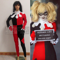 Batman Cosplay Women's Cartoon Dress Movie Custom Made Harley Quinn Cosplay Harley Quinn Costume