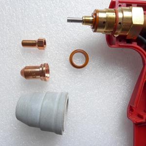 Image 5 - 60510 Bouclier 60434 Entretoise 60027 Anneau tourbillonnant Buse 52558 Électrode PT 80 PT80 PT 80 IPT 80 IPT 80 PTM80 PTM 80 Torche à Plasma