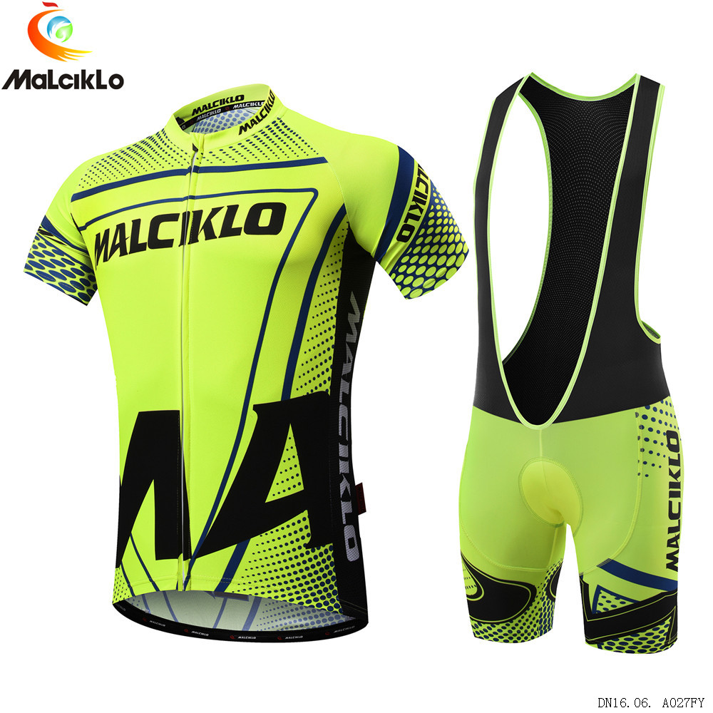 цены  Malciklo 2017 Newest Pro Fabric Cycling Jerseys Cycling Clothing Wear Short Sleeves Bike Sport Set Ropa Ciclismo Summer Kits