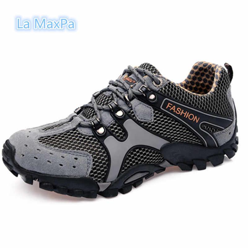 70a8151aeb33 Размер 35-46 2018 новый открытый кроссовки wo Для мужчин дышащие кроссовки  Мужская обувь спортивная