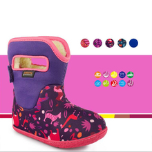 Baby Boots Winter New Children Outdoors Waterproof Snowfield Baby Study Shoes