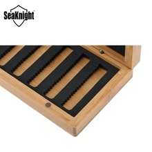 SeaKnight MAXWAY Fly Bait Box 140*91*31mm 155g Bamboo Material Sunscreen Waterproof Lure Box Fishing Accessories Fishing Tackle