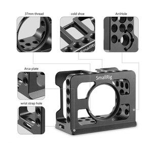Image 4 - 소니 RX0 카메라 케이지 용 SmallRig 내장 Arca 스위스 장착 삼각대/모니터 2106