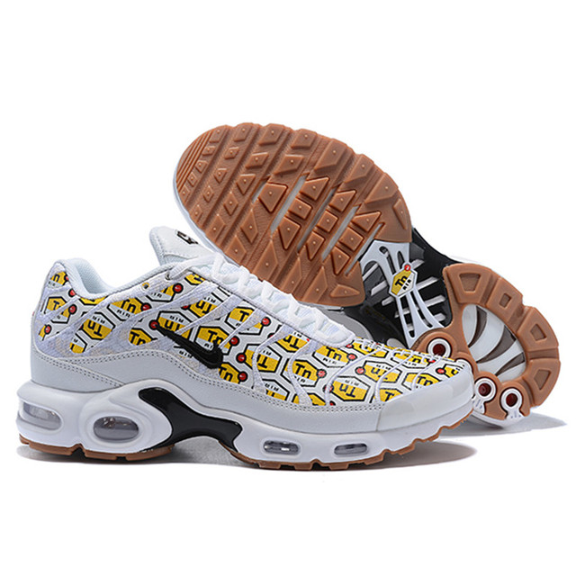 cozy fresh a5787 2bfb6 US $65.66 52% OFF|2019 Nike Air Max Plus TN Ultra 3M Men's Running Shoes,  Black, Wear resistant Shock absorbing Breathabler size 36 46-in Running ...