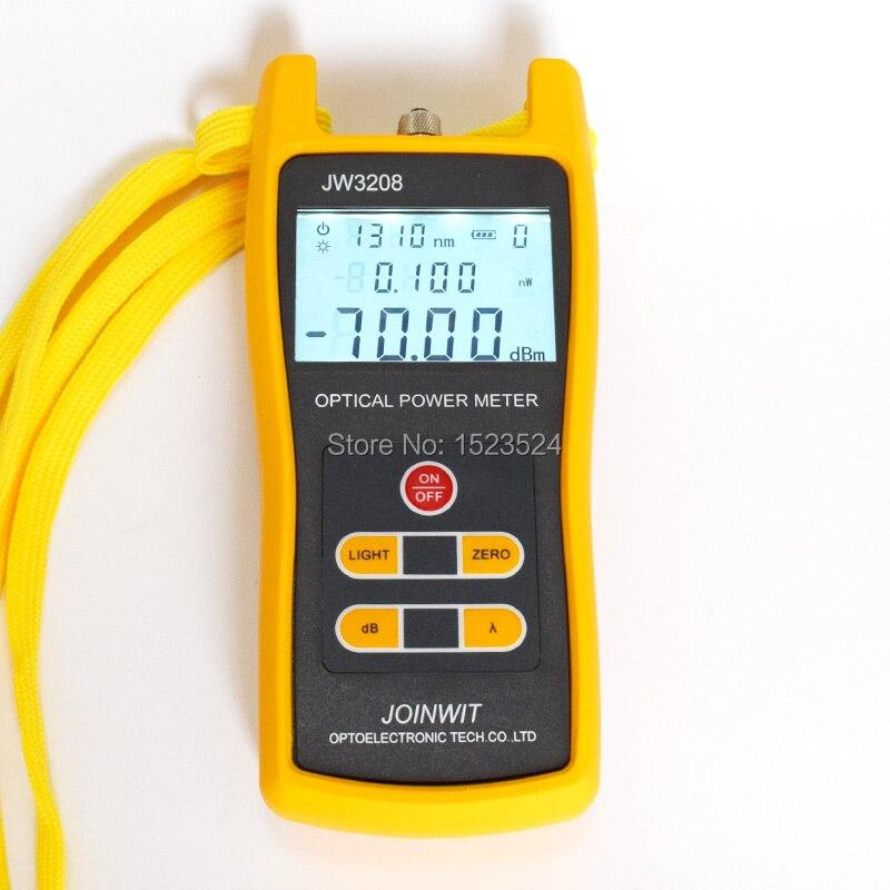 Used in Telecommunication Field Cheap JW3208A 70 6dBm Handheld Fiber Optic Power Meter