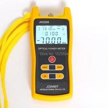 Usado no campo de telecomunicações barato jw3208a 70 ~ + 6dbm handheld fibra óptica medidor de potência